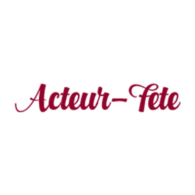 Acteur-Fête