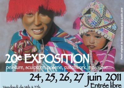 affiche Expo 2011 IF2